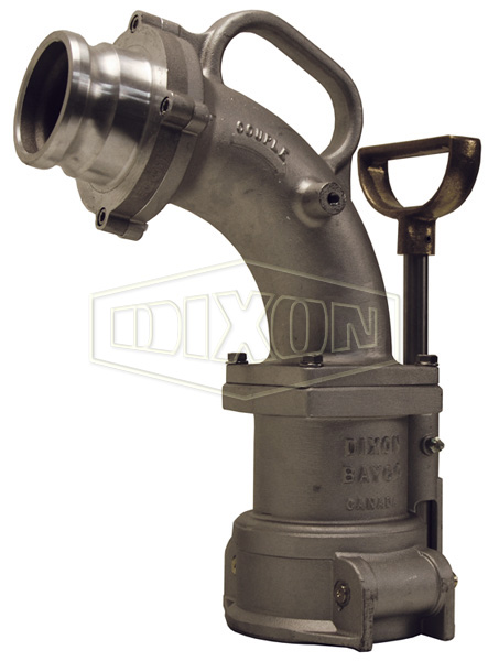 Dual Point Vapor Recovery Elbow D-Handle