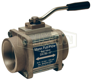 Mann Tek One-Way Full Flow Ball Valve Female NPT