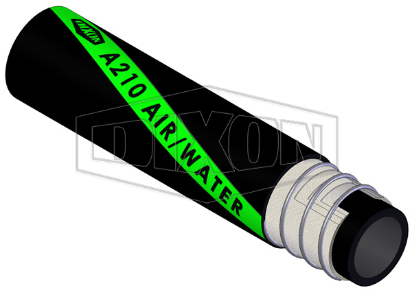 Rubber Heavy Duty Water Suction & Delivery Hose A210