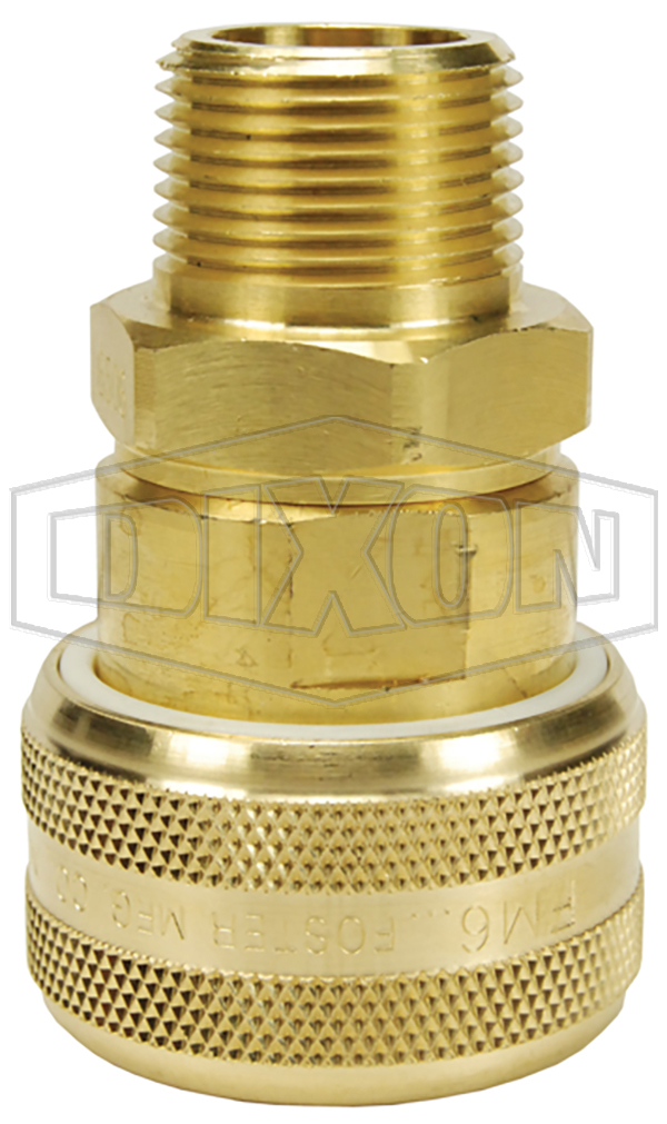 Air Chief Industrial Automatic Male Threaded Coupler