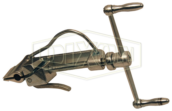 band clamp clamping tool adapter install preformed clamps coupling equipment