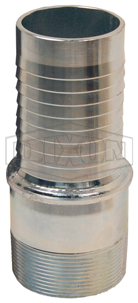 External Swage Stem Male BSP End Tubular Type