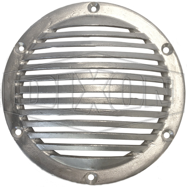 Inlet rose strainers