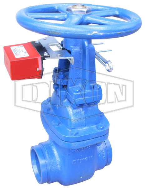 Monitored Os U0026y Grooved Gate Valve