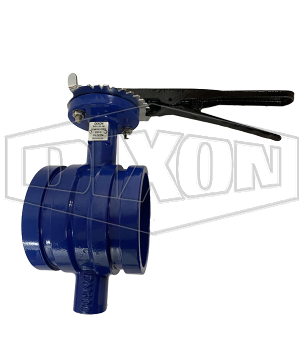 100mm Shouldered Butterfly Valve