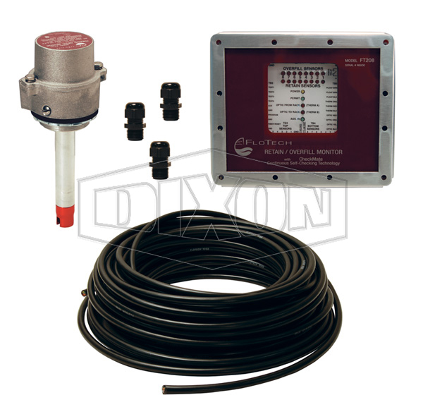 fuel tanker overfill detection checkmate overfill detection systems top detection only