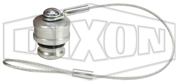 DQC V-Series Snap-Tite H/IH Interchange Dust Plug